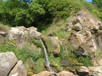 The Waterfall at Hayburn Wyke