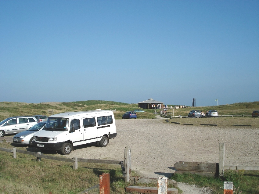 Car park and information centre