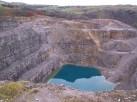 Quarry behind