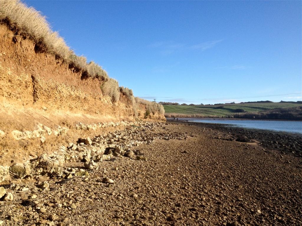 Low Cliffs at Pirate Cove, Dorset
